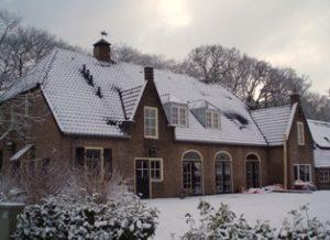 De Meerenburgh - buitenaanzicht winter